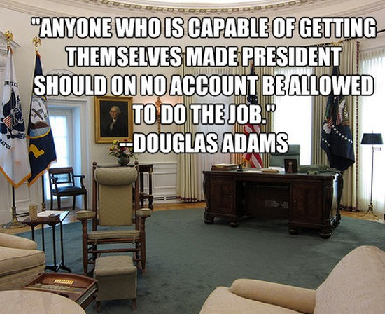 Douglas-Adams-president-quote
